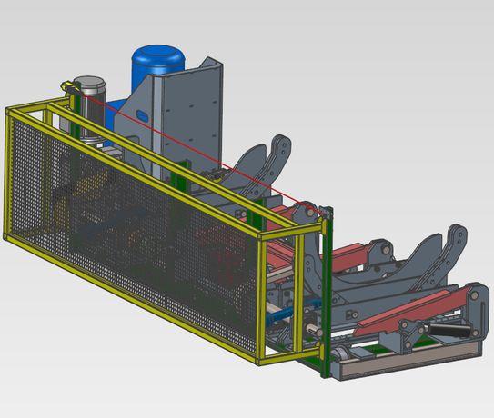 Projektowanie maszyn,CAD 3D,konstruktor,zlecenie, współpraca.