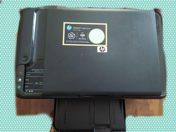 Принтер+сканер струйный HP f2480