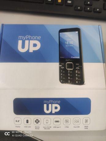 Telefon dla seniora myPhone UP