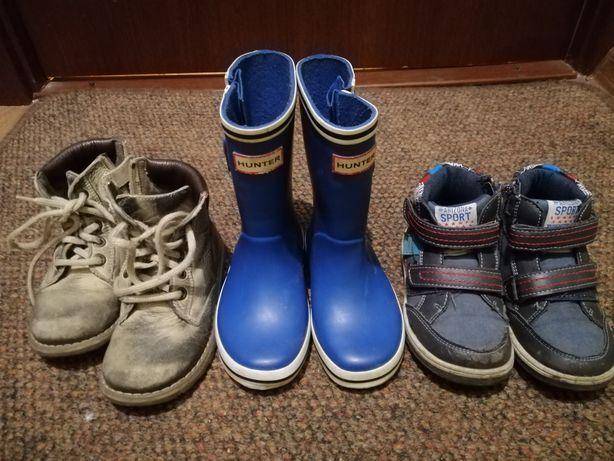 Ботинки, резиновые сапоги