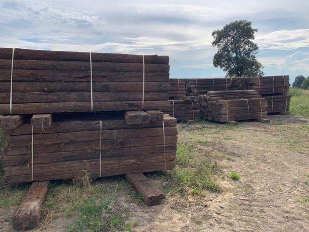 Podkłady drewniane ogrodowe