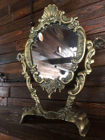 Зеркало в антикварном обрамлении. Идеальное состояние