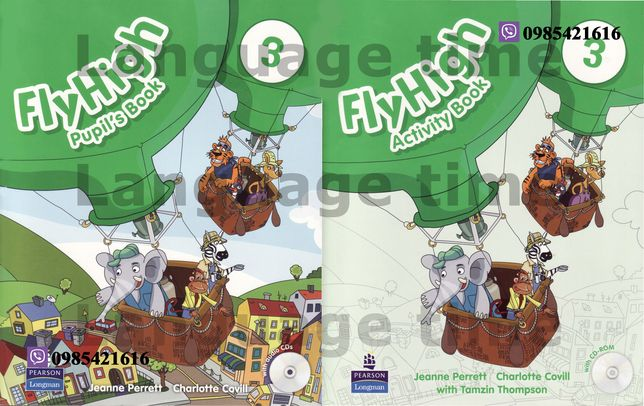 Fly High 3 Pupil's Book + Activity Book