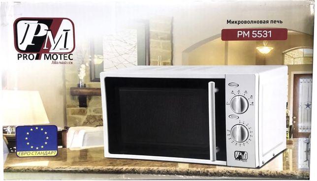 Новая микроволновая печь  Promotec Pm-5531 микроволновка 20 л Малайзия