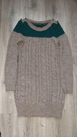 Платье-туника(вязка) xs-s