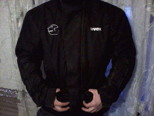 Мото куртка Uvex с защитой размер XL