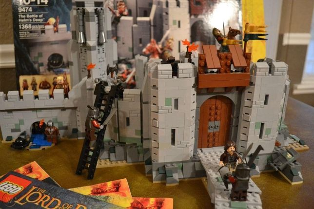 Lego 9474 The Lord of the Rings The Battle of Helm's Deep Helmowy Jar