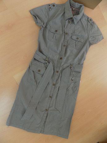 sukienka szmizjerka dziewczęca rozmiar 158-164 cm