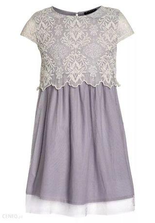 Sukienka koktajlowa - light blue Sisley 146 cm