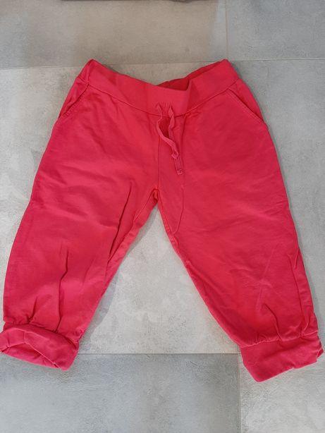 Spodnie dresowe 3/4 bawełna 164