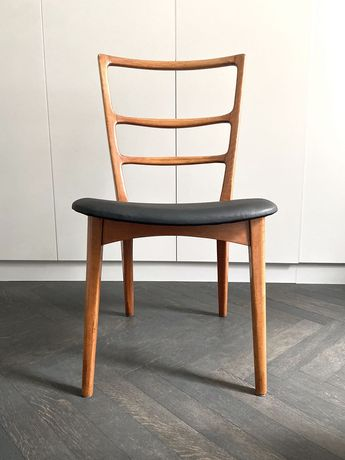 Krzesło proj. M. Grabiński typ 1038 Vintage PRL lata 60. 4 szt.
