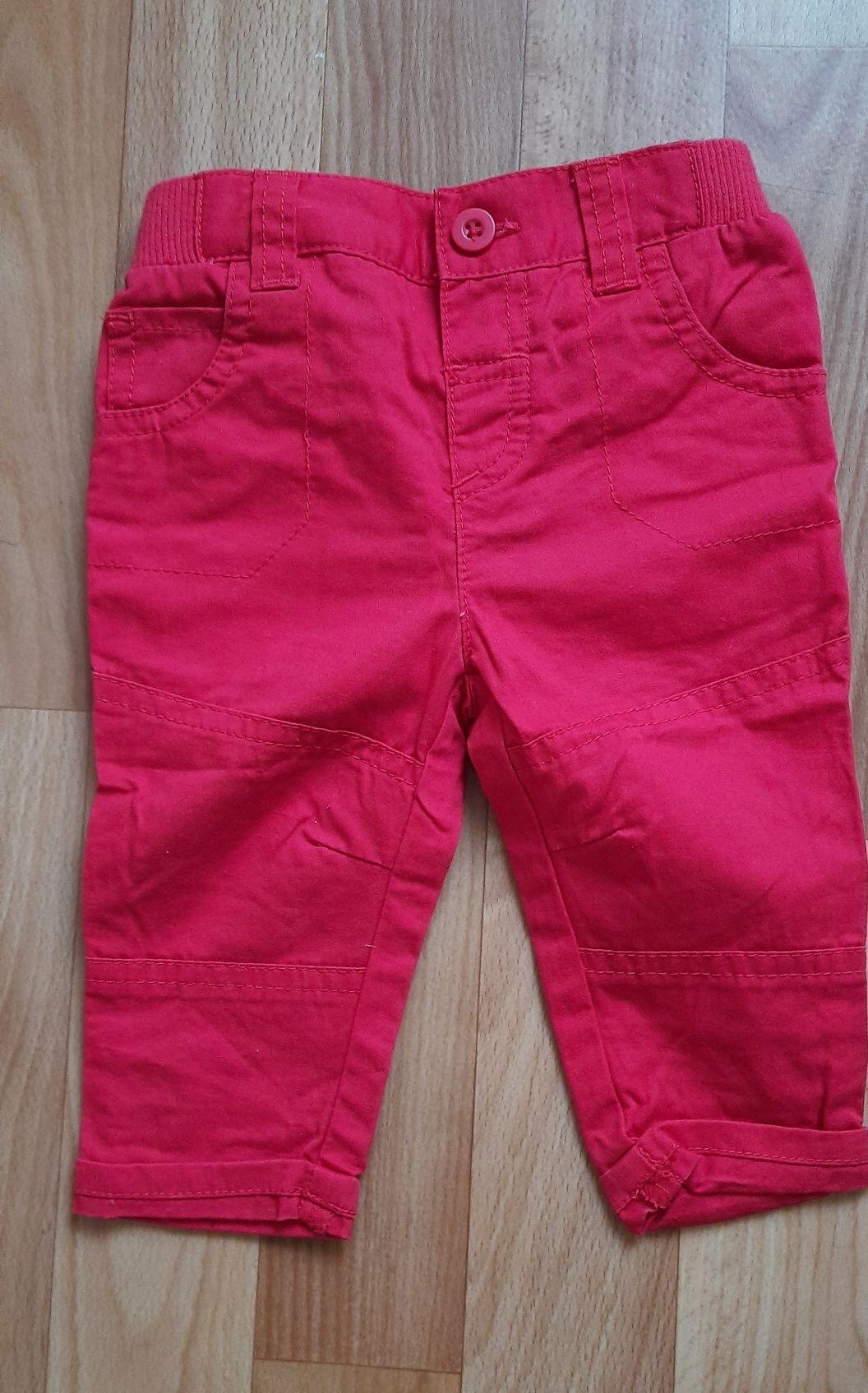 Котоновые брюки Tu на девочку 3-6 мес
