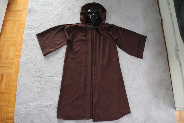 Strój, kostium Jedi + gratis maska Vadera gra świeci