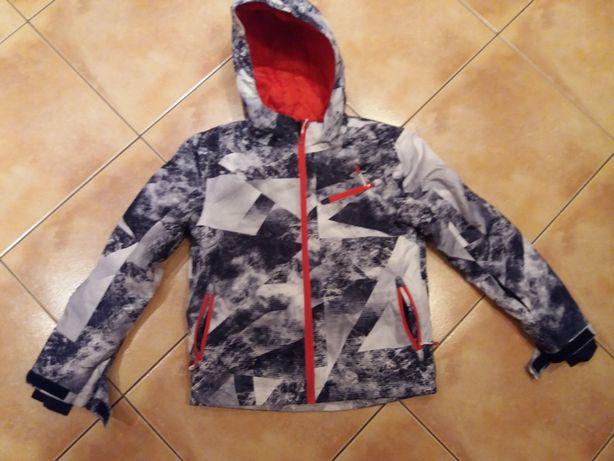Kurtka narciarska 4F 134 + bluzka 146 + polar 146