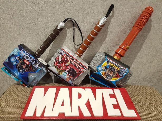 Молот Тора/Марвел,Мстители,Marvel Avengers/светов и звуковые эффекты.