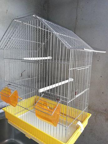 Gaiola inox para pássaros