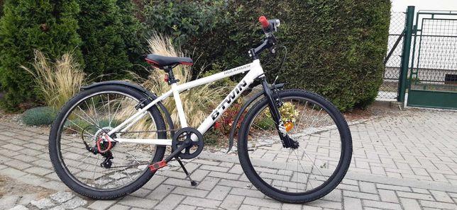 """Sprzedam rower BTWIN 24"""" Rockrider 300 - Zarezerwowany"""