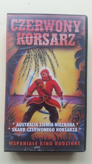 Kaseta VHS Czerwony Korsarz