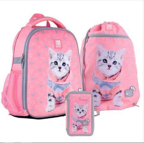 Школьный ортопедический рюкзак + пенал + сумка для обуви Kite