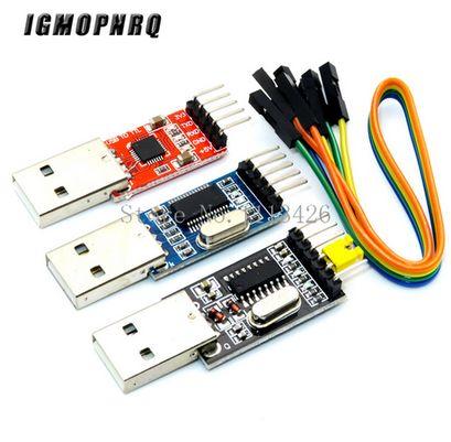 лот 3 шт PL2303HX + 1 шт. CP2102 + 1 шт. CH340G USB в TTL