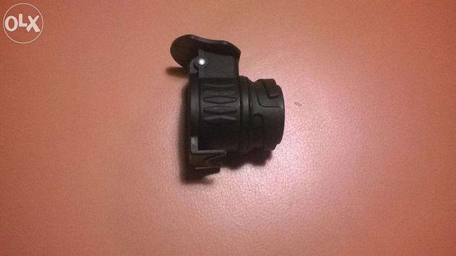Przejściówka adapter 13/7 PIN hak przyczepa