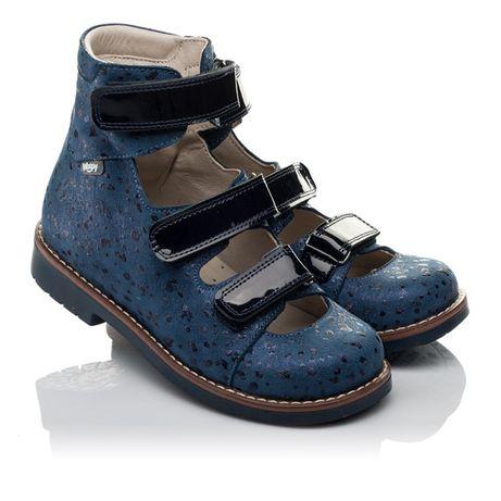 Ортопедические туфли (с высоким берцем) Woopy Orthopedic для девочки
