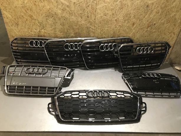 Решетка Решотка Решітка Audi A4B8 A5S5 A5 A7 A6C7 Бампер Фари Шрот