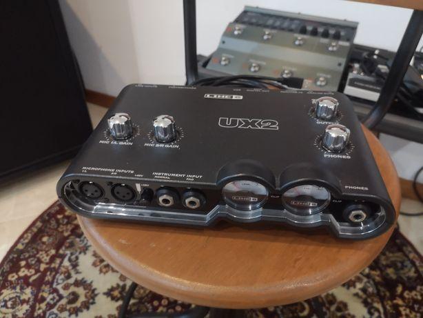 Interface áudio Line6 POD UX2