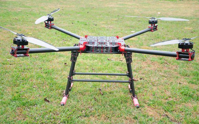 Грузовой дрон коптер беспилотник квадрокоптер для перевозки груза