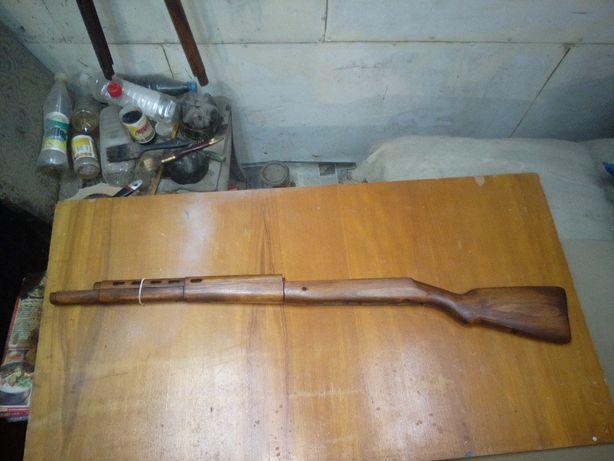 Ложе раритетной винтовки Токарева СВТ-38 образца 1938 года