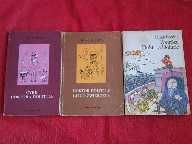 Doktor Dolittle i jego zwierzeta, Cyrk Dr Dolittle, Podróże Doktora