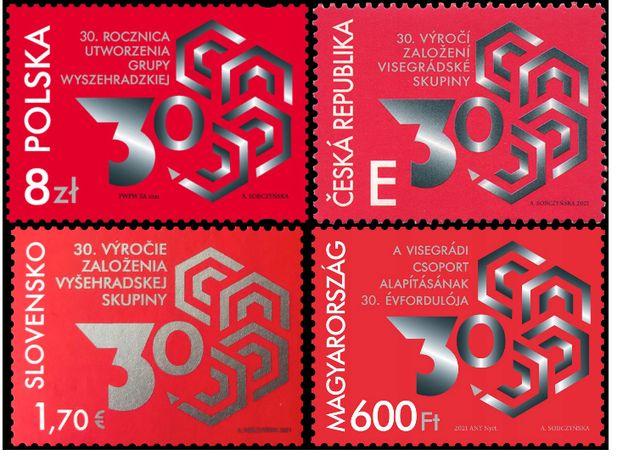 30. rocznica utworzenia Grupy Wyszehradzkiej ( wydanie wspólne)
