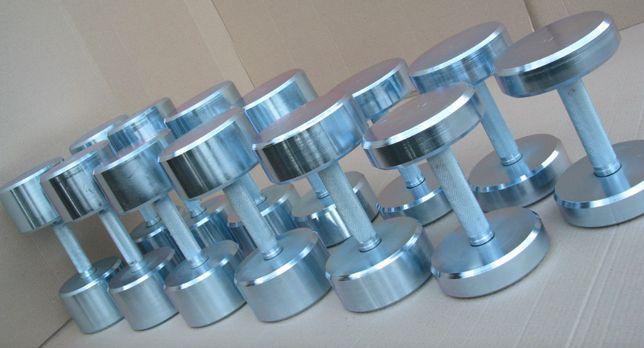 Набор гантель 10-50 кг Гантельный ряд, хромированные, профессиональные