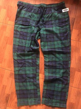 Пижамные фланелевые штаны Old Navy (размер XL)