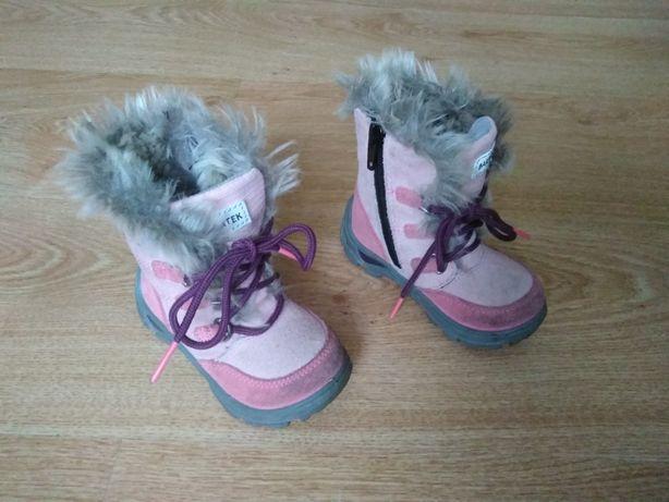 Buty kozaki r. 21 dziewczynka