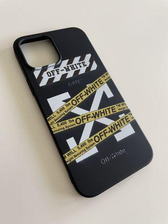 Apple Pokrowiec Etui Case Iphone 12 Pro Max OFF WHITE