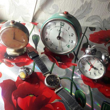 Будильники и наручные часы