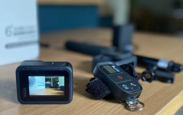 GoPro Hero 8 pakiet wakacyjny pilot, ładowarka, dome port