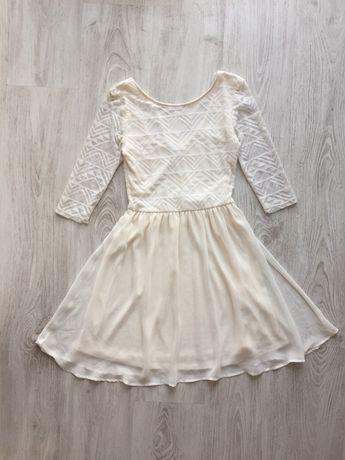 Белое нарядное платье H&M