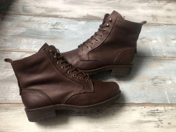 Кожаные ботинки Ecco on timberland geox diesel zara Solomon