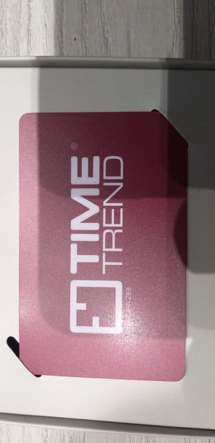 Karta podarunkowa TIME TREND 110zl na karcie