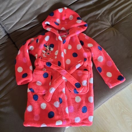 Яркий детский банный махровый халат Disney Next 2-3  года