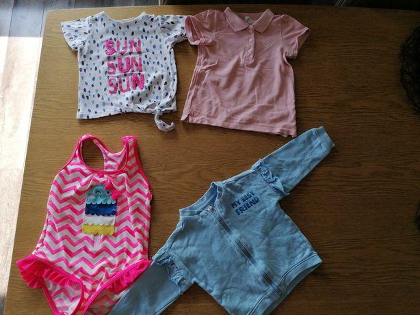 Paczka ubrań dziecięcych rozmiar 74-92