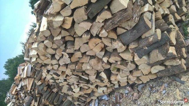 Drewno wiele gatunków kominkowe opałowe
