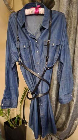 Sukienka jeansowa pull&bear