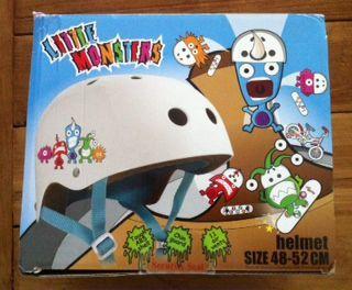 Capacete para criança Little Monsters (Novo)
