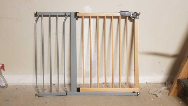Bramka zabezpieczająca schody dla dziecka