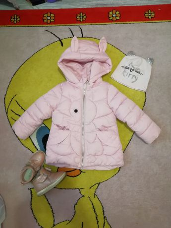 Демисезонная куртка, еврозима, осень, весна +набор