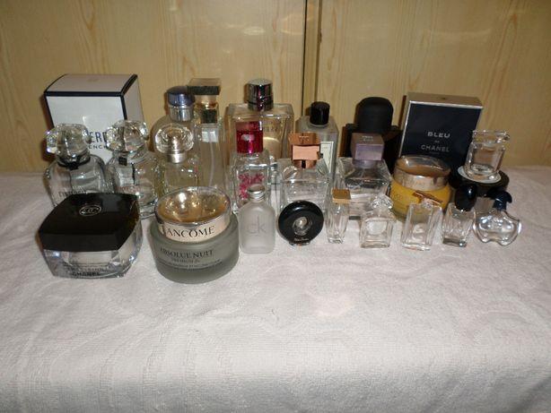 Puste butelki ,flakony po perfumach,kosmetykach