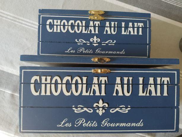 Набор.2шт-коробочки для хранения шоколада.butlers